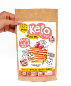 Pancakes and Waffles Dry Mix - Keto, Paleo, Diabetic Friendly and Gluten Free