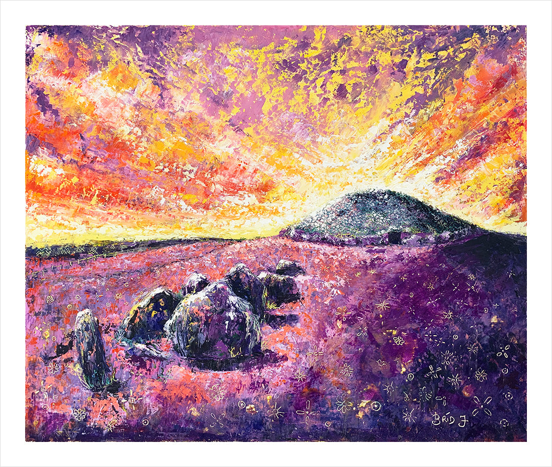 Loughcrew Cairns (Limited Edition Print)