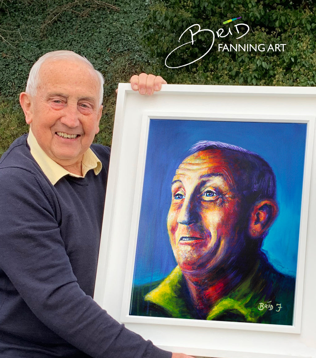 Seán Boylan Portrait (Limited Edition Prints) in support of Meath Hospice