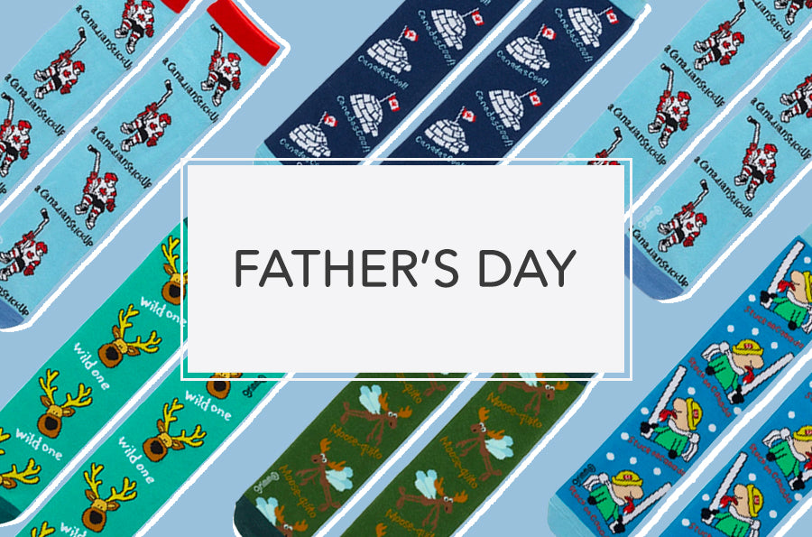 Celebrate Father's Day with Some Hilarious Socks for Dad!
