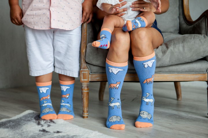 Matching Socks for the Whole Family