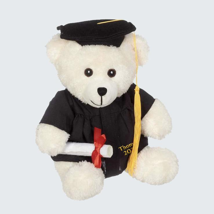 Bucky customization grad bear