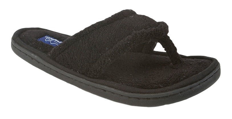 Tempur-pedic Airsock Black Spa Slipper (Women)