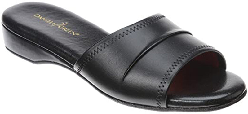 Daniel Green Dormie Black Slipper (Women)