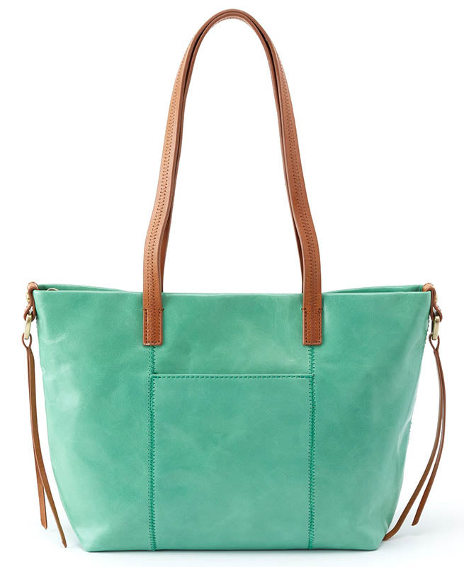 Hobo Cecily Mint Leather Handbag (Women)