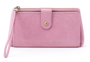 Hobo Cleo Lilac Leather Wristlet (Women)