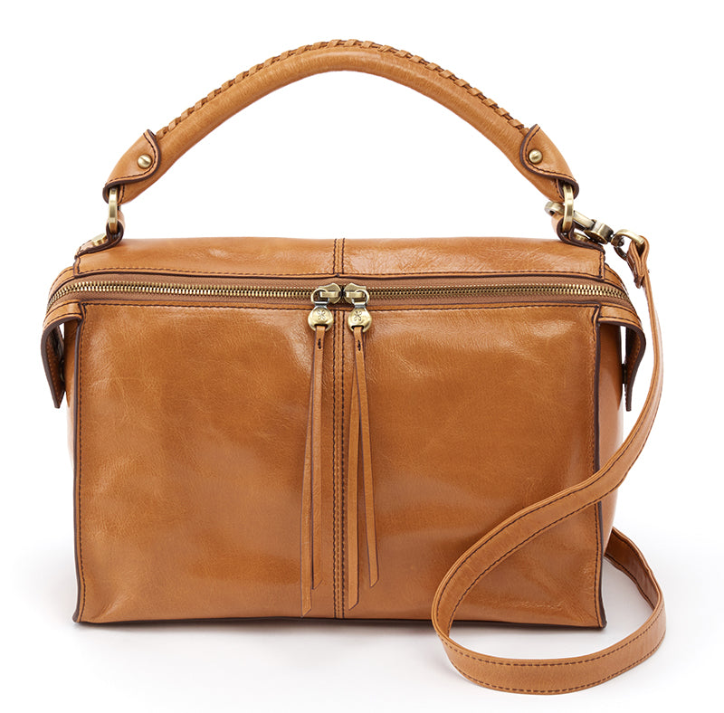 Hobo Copula Honey Leather Handbag (Women)