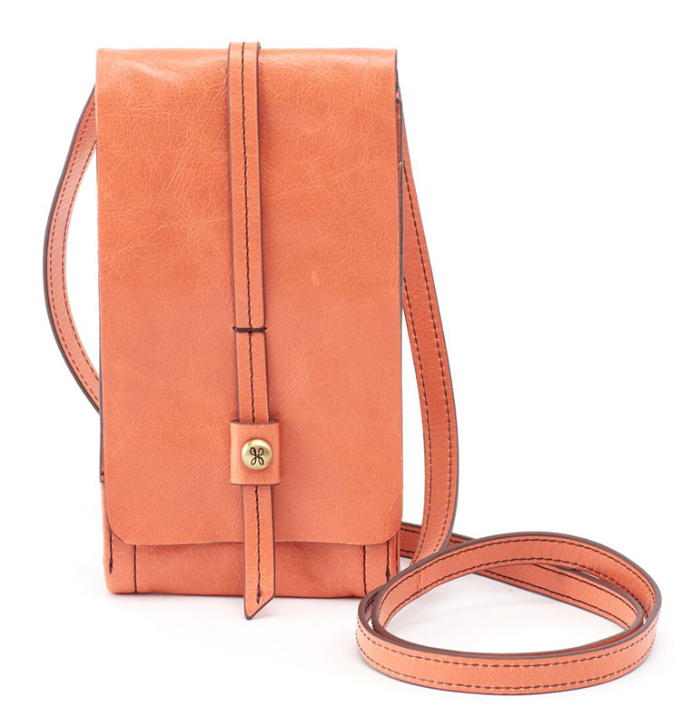 Hobo Token Dusty Coral Crossbody Handbag (Women)