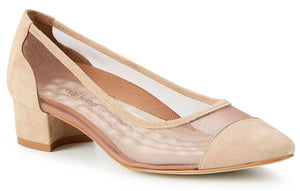 Walking Cradles Hepburn Taupe Mesh Pump (Women)