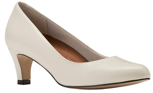 Walking Cradles Joy White Leather Pump (Women)