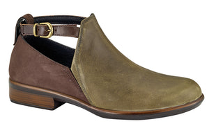Naot Kamsin Pine/Coffee Bean Bootie (Women)
