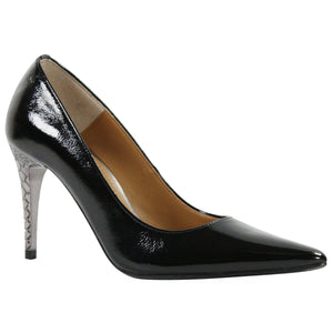 J. Renee Maressa Black Patent Pump (Women)