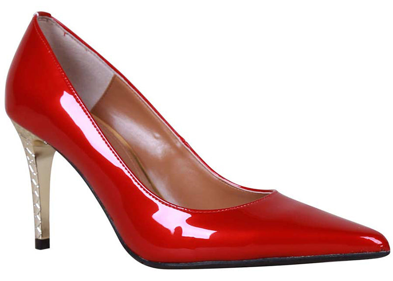 J. Renee Maressa Red Patent Pump (Women)