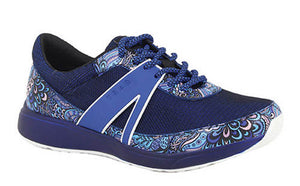 Alegria Traq Qarma Wild Child Blue Sneaker (Women)