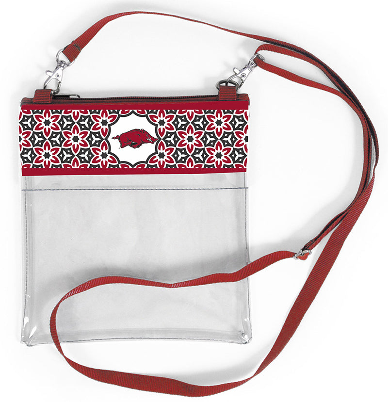 Arkansas R72 Clear Crossbody Handbag (Women)