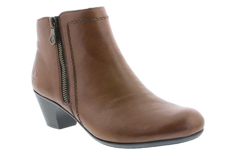 Rieker Sarah51 Muskat Leather Boot (Women)