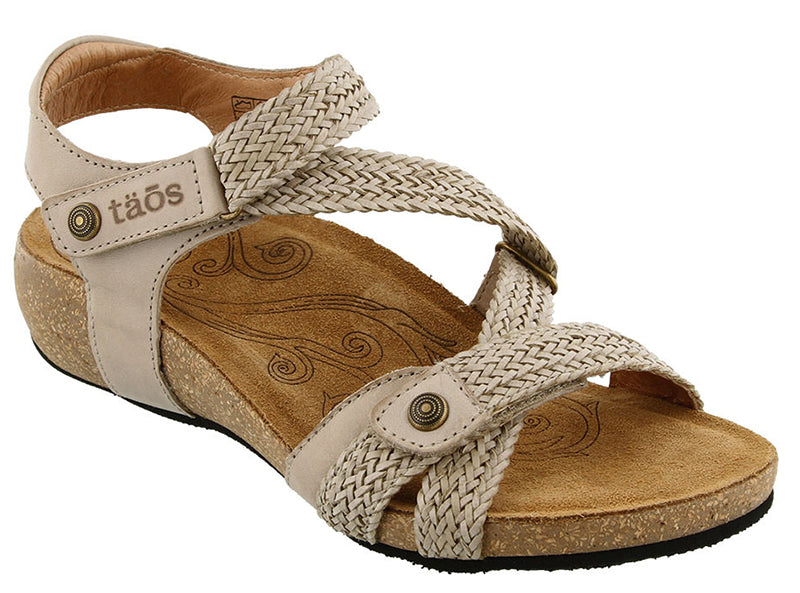 Taos Trulie Stone Leather Sandal (Women)