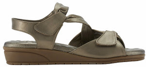 Elites Valarie Bronze Leather Sandal (Women)