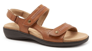 Trotters Venice Luggage Leather Sandal (Women)