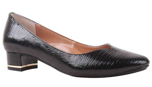 J. Renee Bambalina Black Lizard Print Pump (Women)