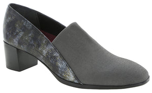 Munro Billee Grey Stretch/Lizard Print Pump (Women)