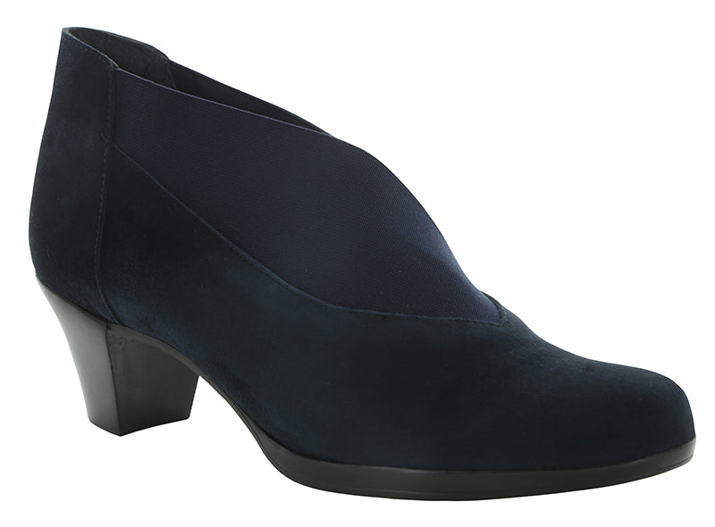 Munro Francee Navy Suede Boot (Women)
