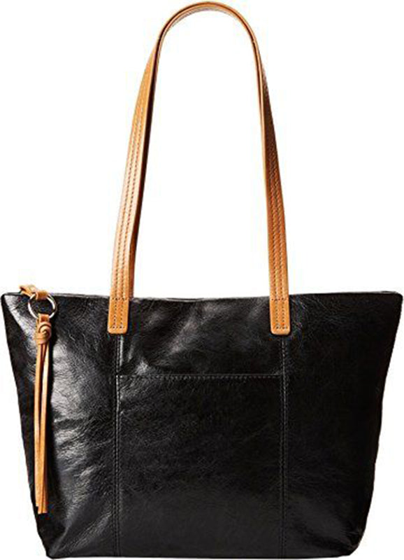 Hobo Cecily Black Leather Handbag (Women)