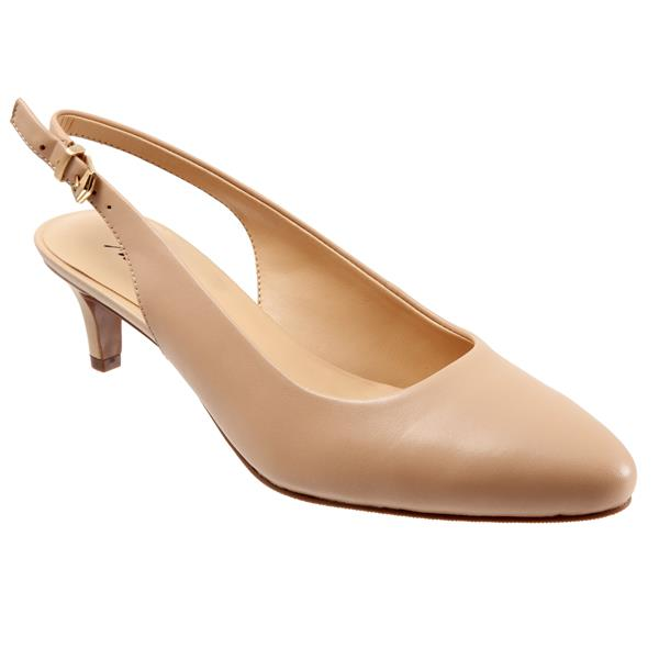 Trotters Keely Nude Leather Pump (Women)