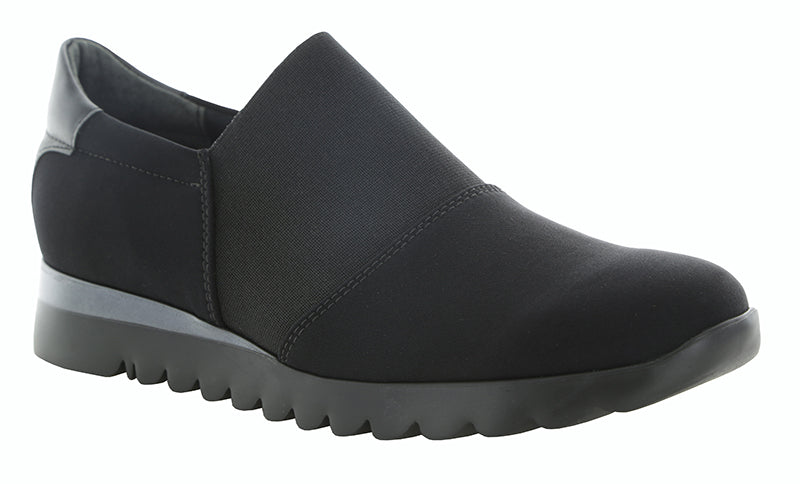 Munro KJ Black Stretch Sneaker (Women)