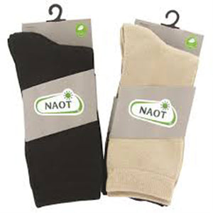 Naot Black/Nude/Navy Socks (Women)