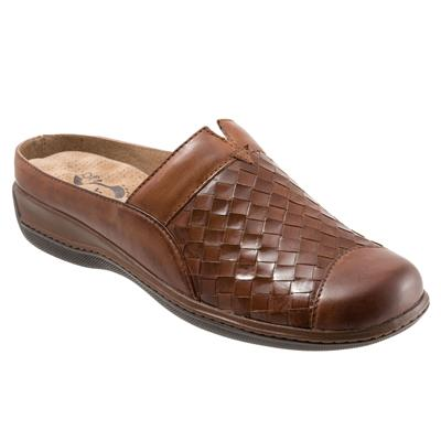 SoftWalk San Marcos Rust Leather Clog (Women)