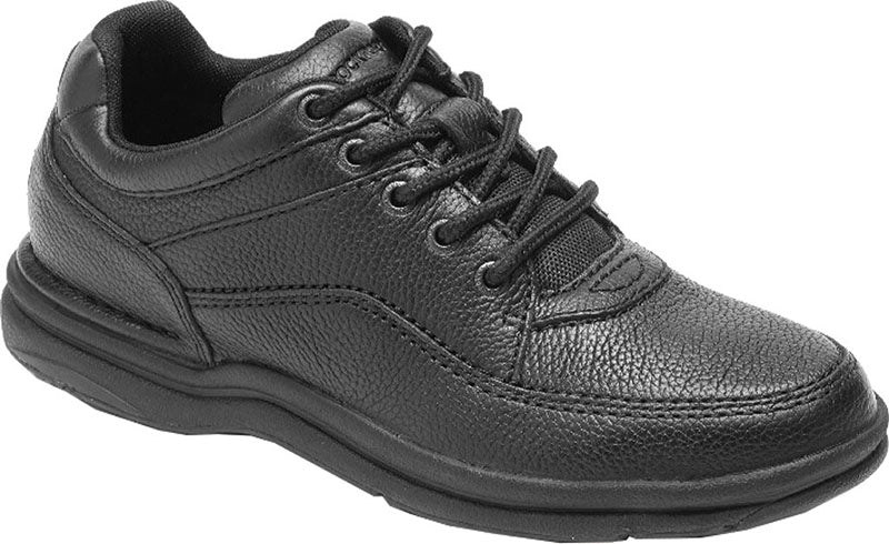 Rockport World Tour Classic Black Tumble (Men)