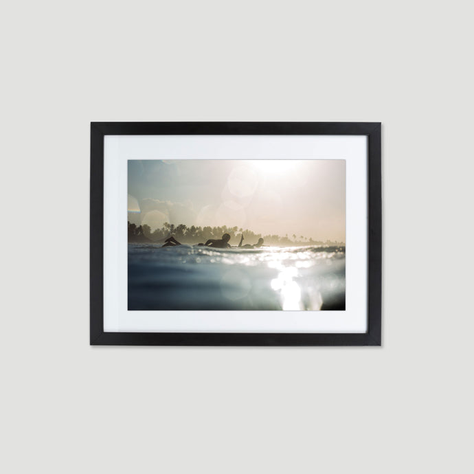 MORNING DAZE - FINEART PRINT MIT RAHMEN & PASSEPARTOUT