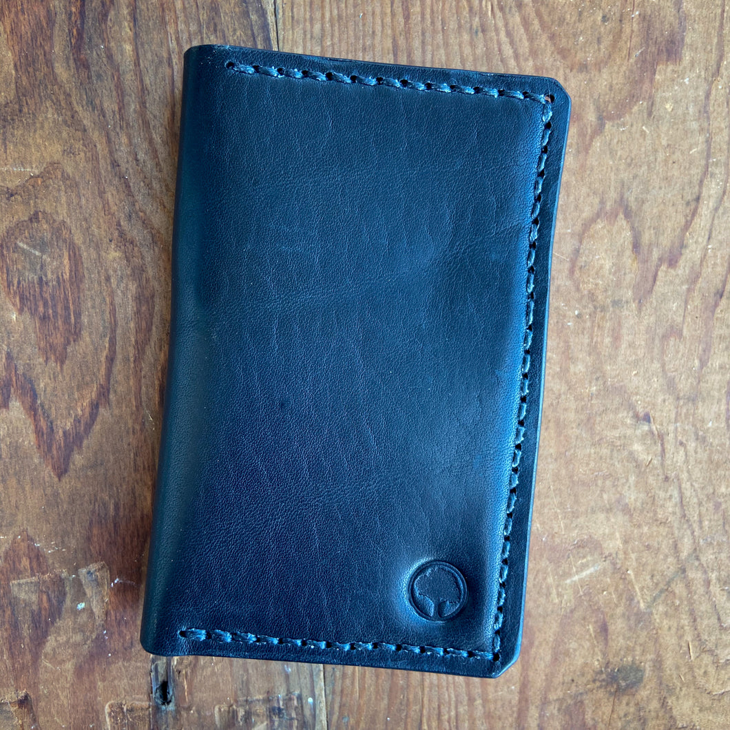 Big Bi-Fold Wallet in Horween Dublin Black