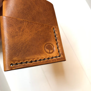 The Slim in Horween Dublin English Tan