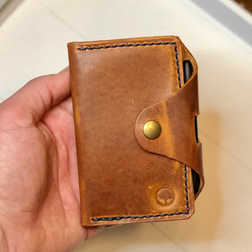 Notebook Wallet in Horween Dublin English Tan
