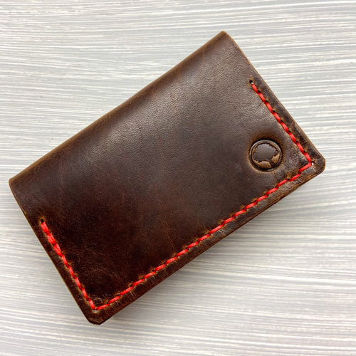 Front Pocket Bifold in Horween Brown Dublin
