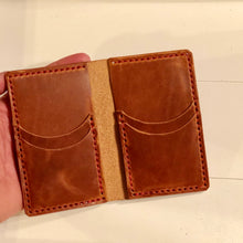 Load image into Gallery viewer, Big Bi-Fold Wallet in Horween Dublin English Tan