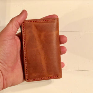 Big Bi-Fold Wallet in Horween Dublin English Tan