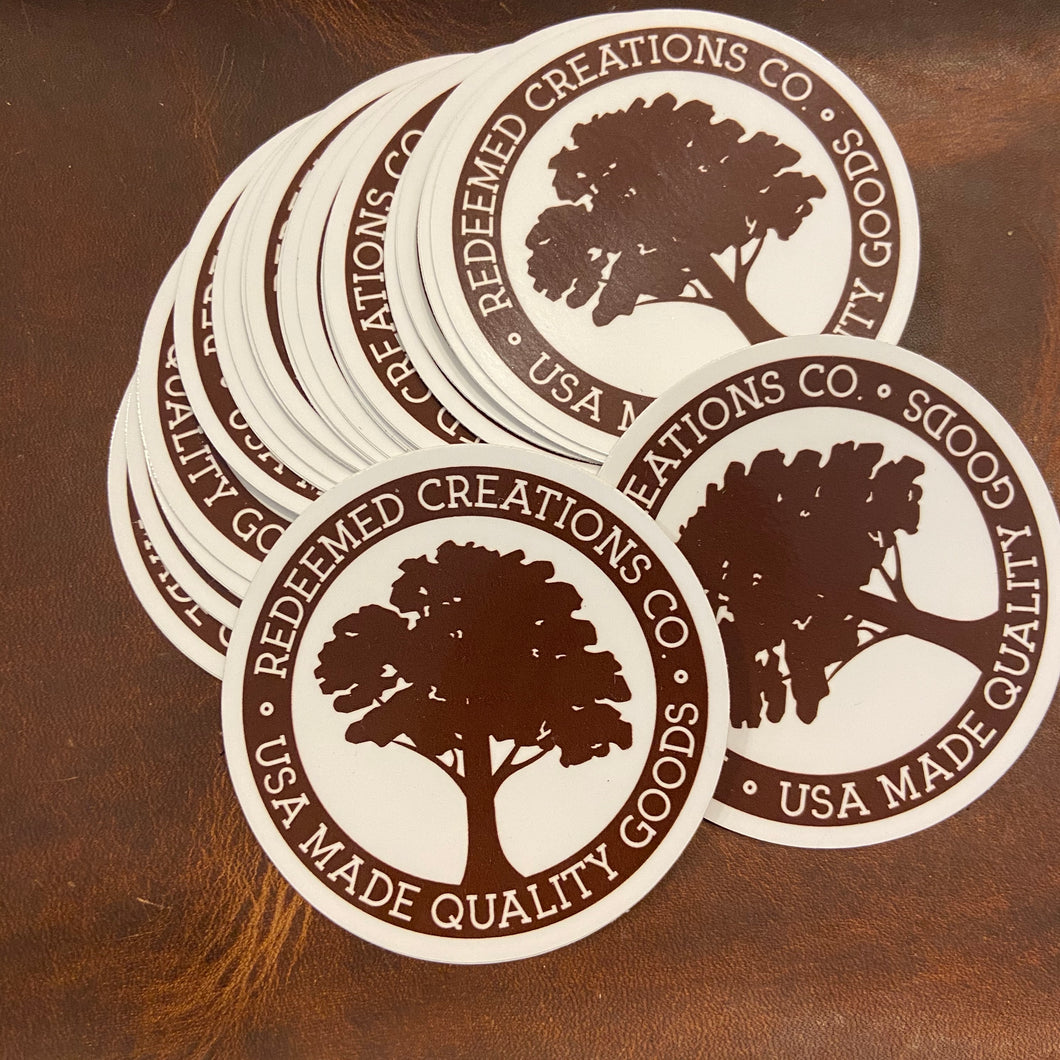 Redeemed Creations Co Sticker