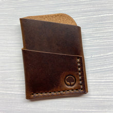 Load image into Gallery viewer, The Slim in Horween Brown Dublin