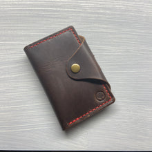 Load image into Gallery viewer, Notebook Wallet in Horween Brown Dublin