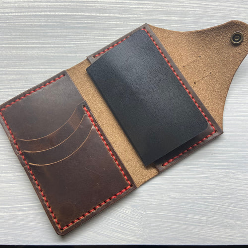 Notebook Wallet in Horween Brown Dublin