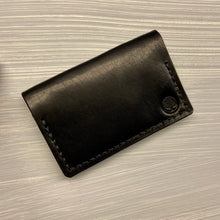 Load image into Gallery viewer, Front Pocket Bifold in Horween Dublin Black