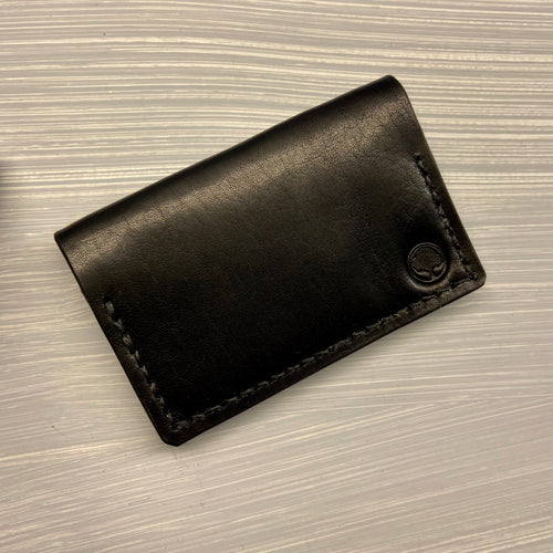 Front Pocket Bifold in Horween Dublin Black