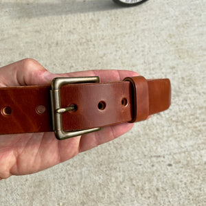 Wicket & Craig Medium Brown Harness Leather Belt