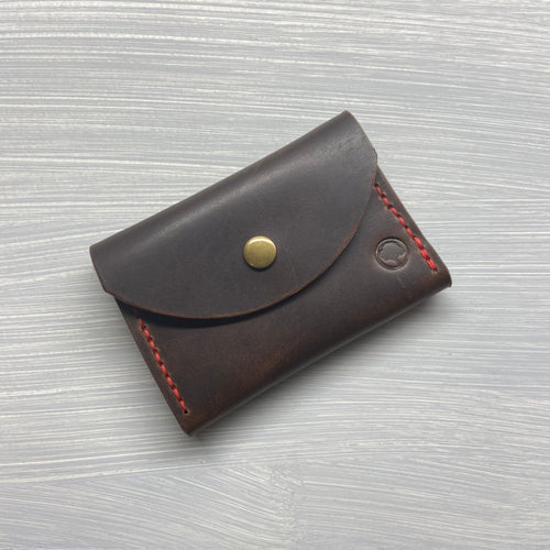 Snap Wallet in Horween Brown Dublin