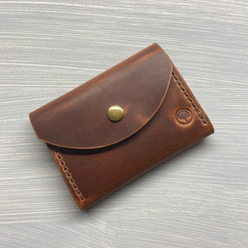 Snap Wallet in Horween English Tan Dublin
