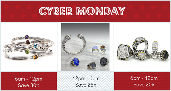 Cyber Monday Sale Schedule