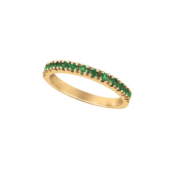 Tsavorite 14K Yellow Gold Ring